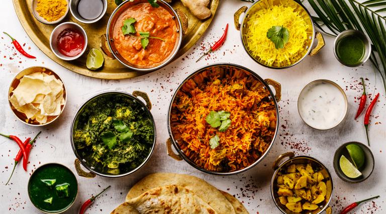 Rangoli Restaurant Background
