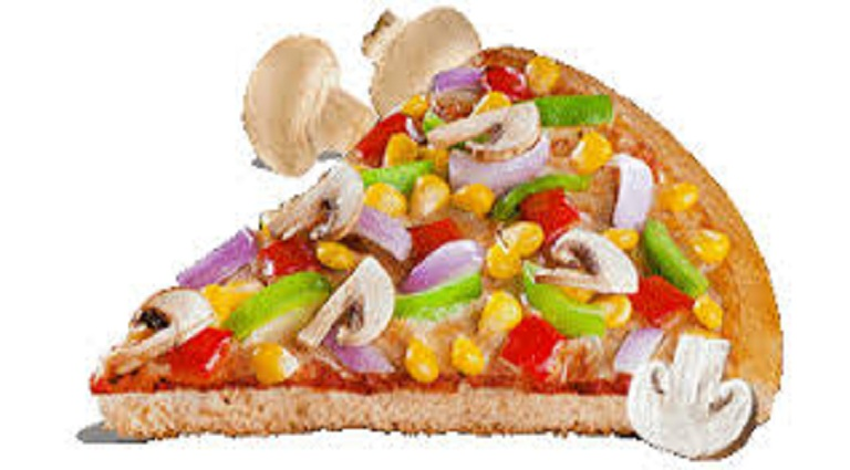 Pizza Caprina Background