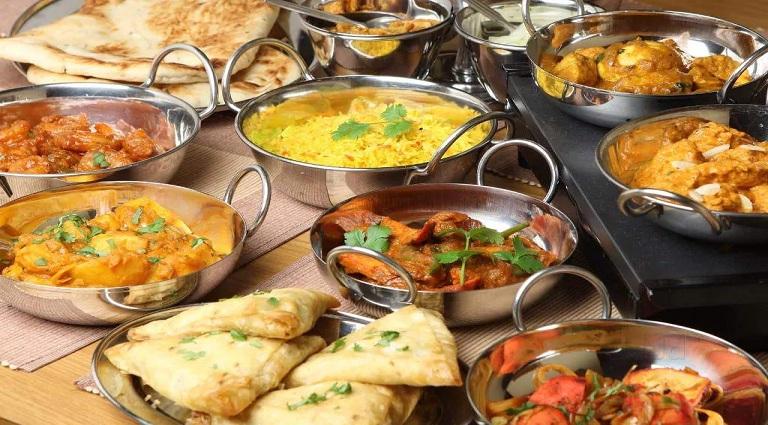 Radhe Krishna Dinning Background