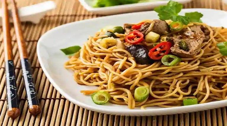 Noodle Bar Background