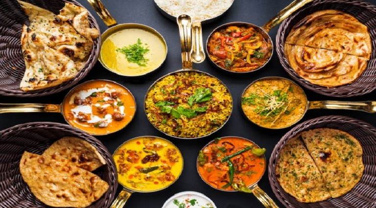 Annapurna Home Food Background
