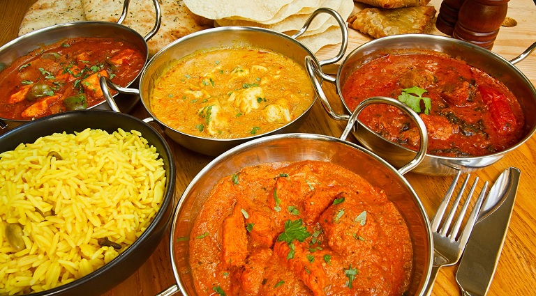 Hindu Lunch Home Background