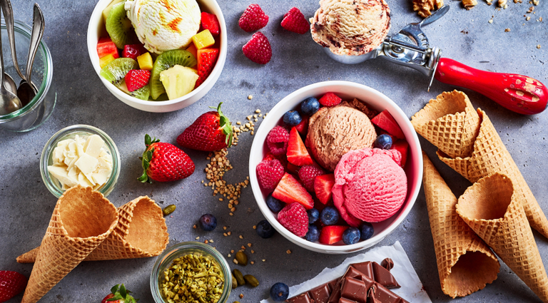 Kwality Wall's Dessert & Ice Creams Background