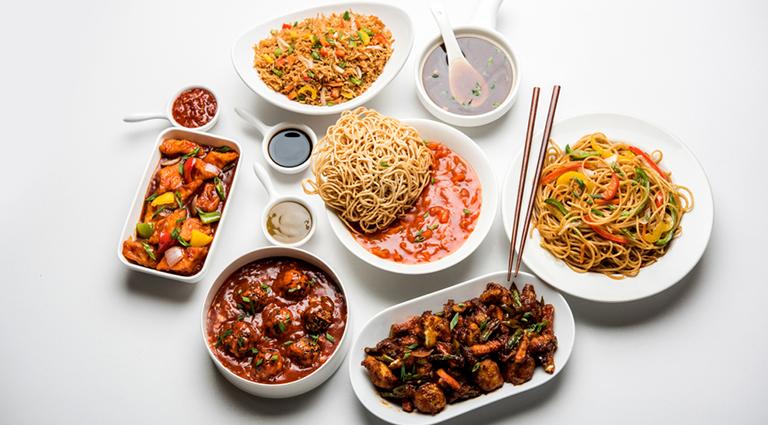 Kung Fu Chinese Restaurant Background