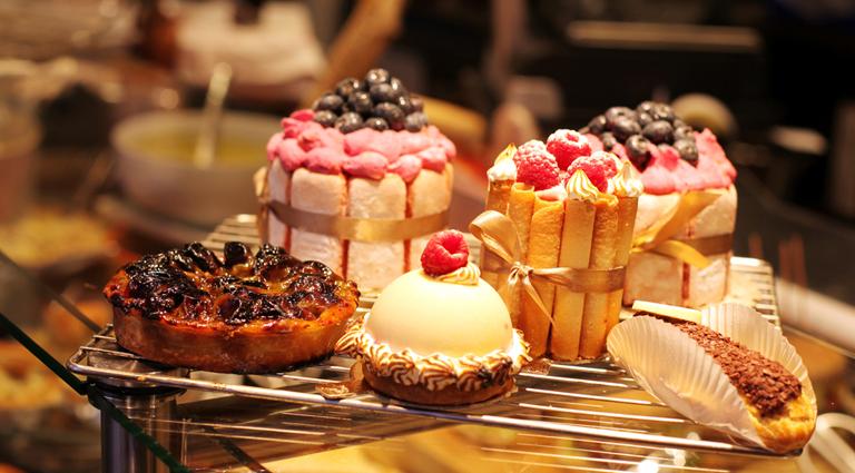 Fresh Cake Bakers Background