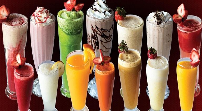 Shake & Juice Background