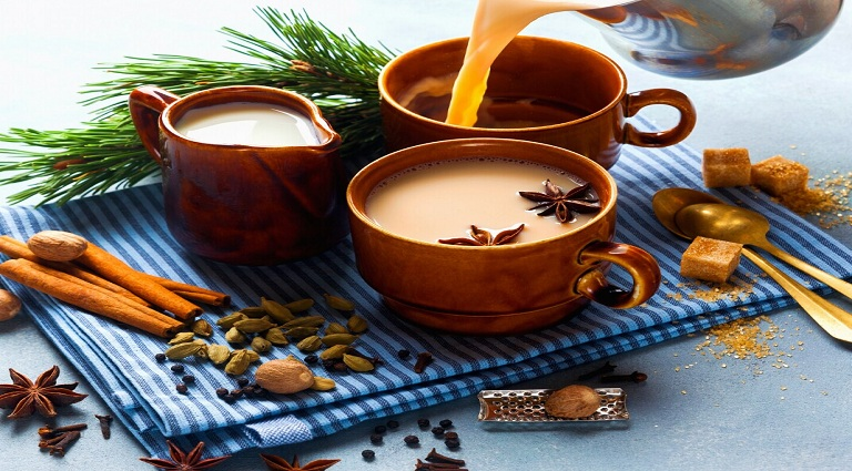 Kadak Tea & Cafe Background