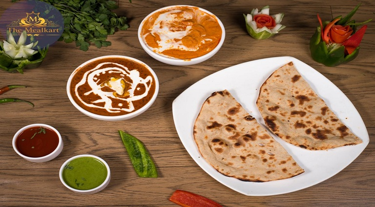 Peace Of Paratha Background