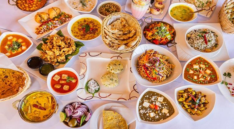 Geeta Fast Food Background