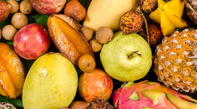 Angad Fruit Shop Background