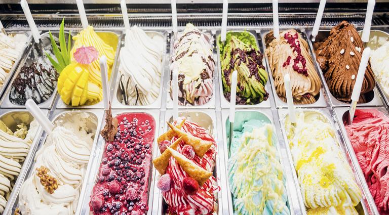Havmor Havfunn Ice Cream Parlour Background
