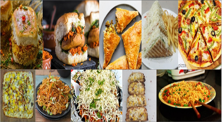 Shreeji Fast Food & Cafe Background