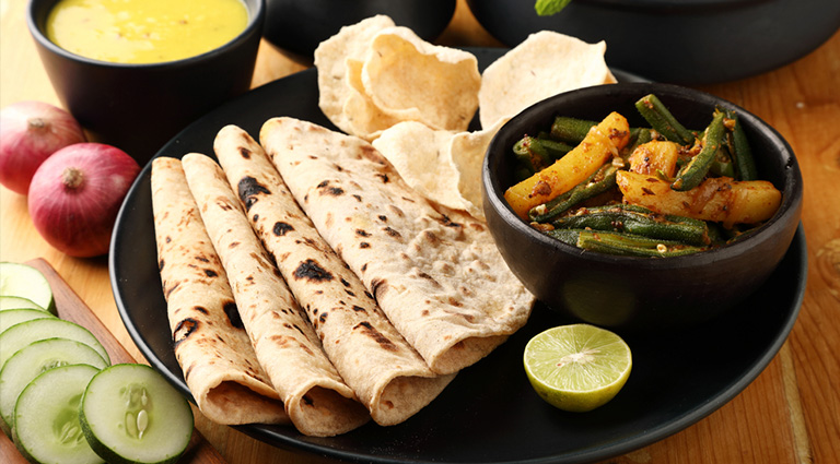 Chapati Center By Paranjape Foods Background
