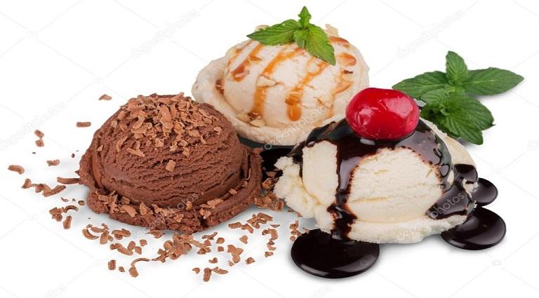 Velentina Natural Ice Cream Parlour Background