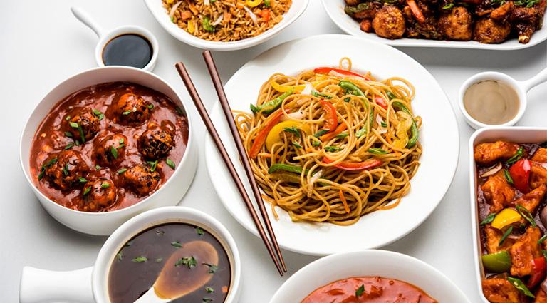 Jai Chinese Food Background