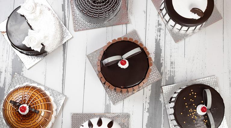 Dessert King Cake Cafe Background
