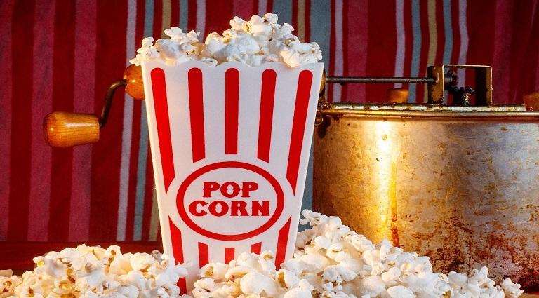 Pipoca Gourmet Popcorn Background