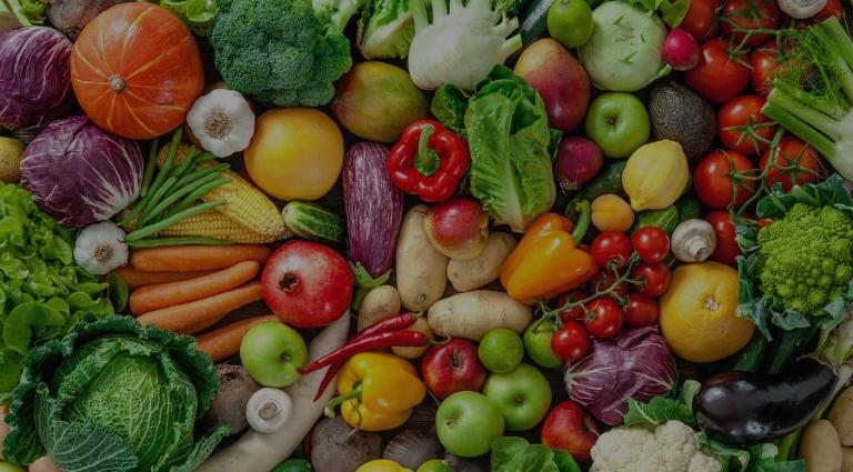 Bharat Veg And Fruits Shop Background