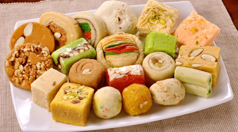 New Saurashtra Farsan And Sweet Mart Background