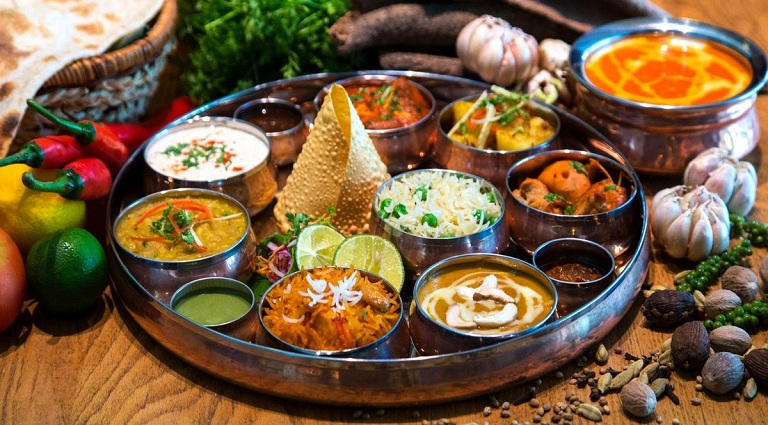 Shree Om Caterers Background