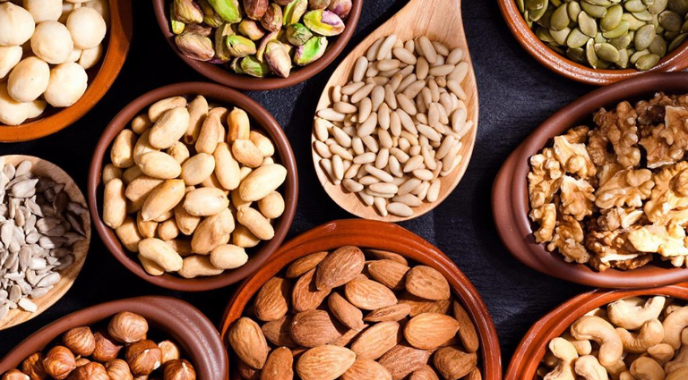 Eminent Dry Fruits & Spices Background