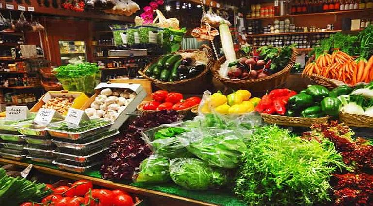 Kishan Fresh Fruits and Vegetables Background