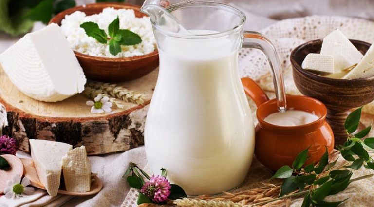 Royal Dairy Products Background