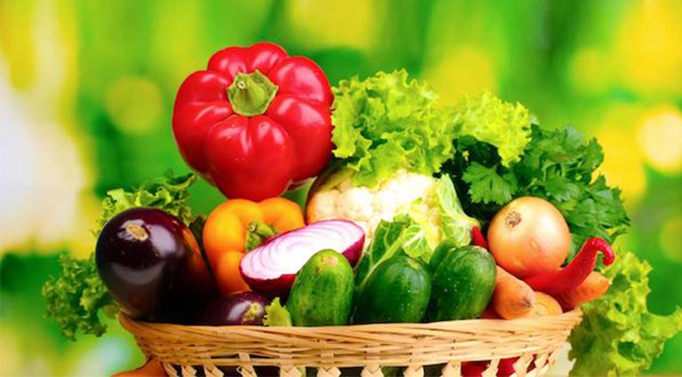 Murugan Farm Fresh Vegetables Background