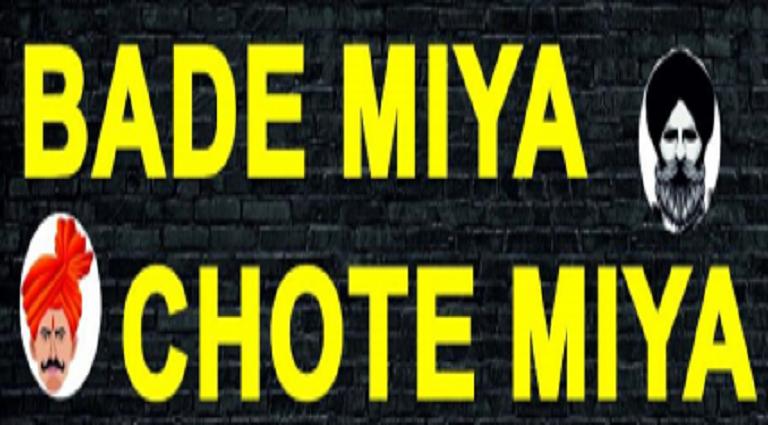 Bade Miya Chote Miya Background