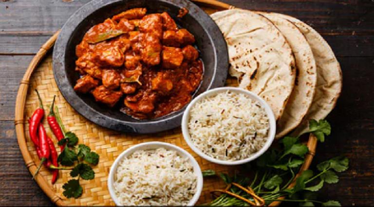 Desi Delight Restaurant Background
