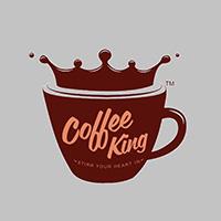 Coffee King Café and Restaurant Logo