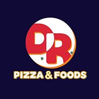 D.R Pizza & Foods Logo
