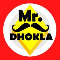 Mr. Dhokla Logo