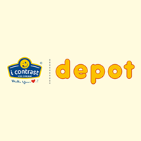 I Contrast Ice Cream - Depot Logo