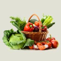 R K Vegetables And Fruits Supplier Logo