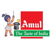 Gurukrupa Refreshment Amul Shop Logo