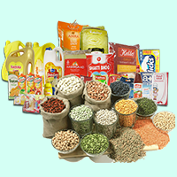 Shreenathji Super Market Logo