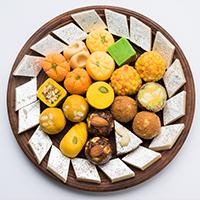 Ambica Farsan, Sweets and Bakery Logo