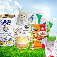 Shreeji Milk Place Logo