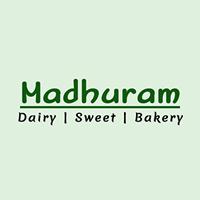 Madhuram Dairy Sweet Bakery Logo
