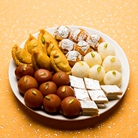 Purohit Sweet And Namkeen Logo