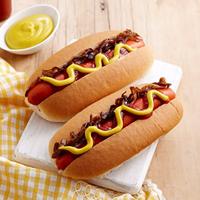 Super Johny Hot Dog Logo