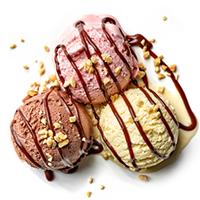 Dairy King Ice Cream Parlour Logo