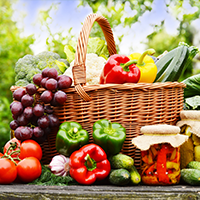 D Green Vegetables Logo