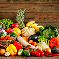 Arunam Vegetables And Fruits Logo