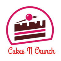 Cakes N Crunch The Cake Shop Logo
