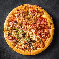 Uncle John's Pizza Logo