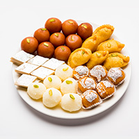 Satu's Sweets Snacks & Namkeen Logo