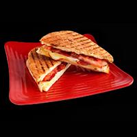 R Sizzling Sandwich Logo