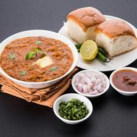 Manohar Snacks & Pav Bhaji Centar Logo